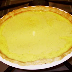 Custard Pie--Nothing Fancy