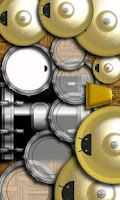 Screenshot of DroiDrum Pro - a pro drum set