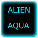 Alien Aqua Keyboard Skin icon