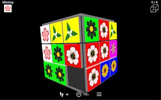 Screenshot of 3D Slider Puzzle