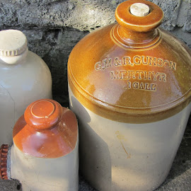 Jugs by Christopher Williams - Food & Drink Alcohol & Drinks ( gallon, beer, wales, jugs )