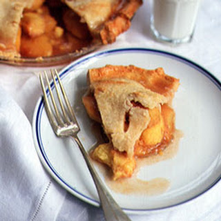 Ginger Peach Pie