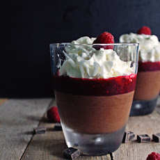 Belgian Chocolate Mousse With Raspberry Lambic Sauce