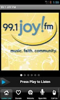 Screenshot of 99.1 JOY FM – St. Louis