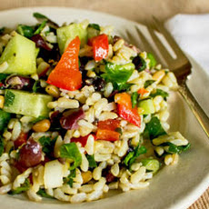 Mediterranean Rice Salad Recipe & Video