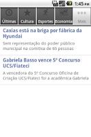 Screenshot of Revista O Caxiense