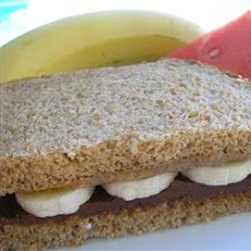 Chocolate Almond Sandwich
