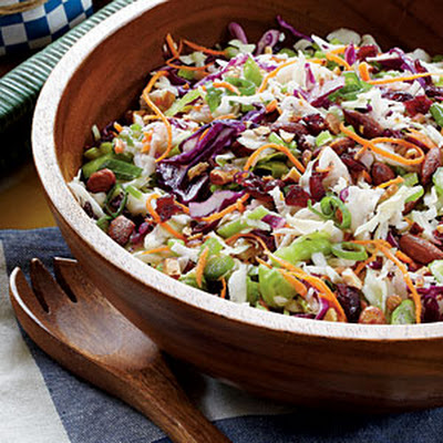 Cranberry-Almond Coleslaw