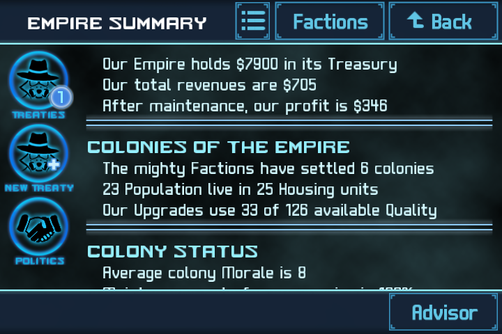 Star Traders 4X Empires Elite Screenshot 3