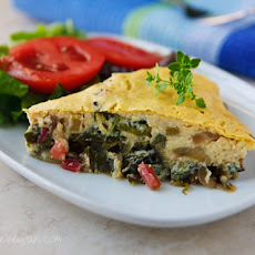 Savory Swiss Chard Pie