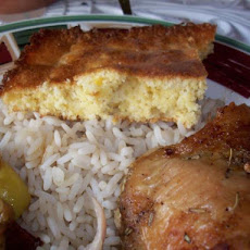 Real Corn Cornbread (With Jiffy Mix)