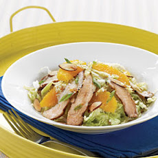 Grilled Pork Salad with Sweet Soy and Orange Dressing