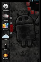 Screenshot of TSFShell Theme Black Android