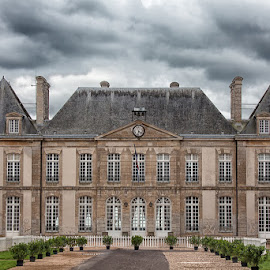 French National Stud by Sue Niven - Buildings & Architecture Public & Historical ( building, national stud, normandie, france, haras du pin )