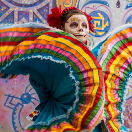 Day of the Dead Dancer! by Fred Herring - News & Events US Events