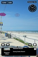 Screenshot of AR Nudist beach scanner
