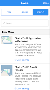 chartee lite nz marine charts - screenshot