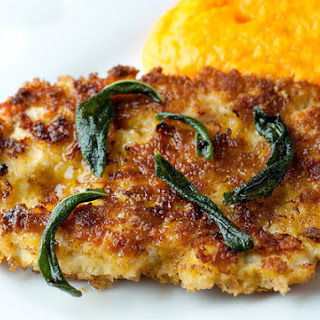 Chicken Scallopine with Lemon Butter Sage Sauce