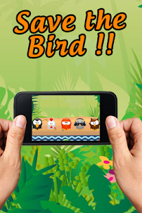 Shuriken Block Birds - screenshot
