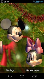 Disney Christmas Tree Screenshot