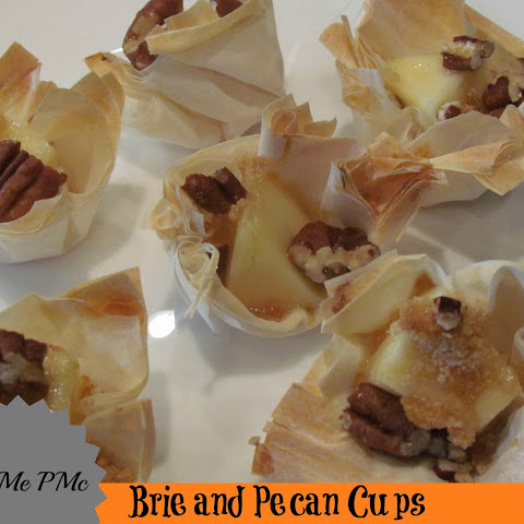Brie and Pecan Cups