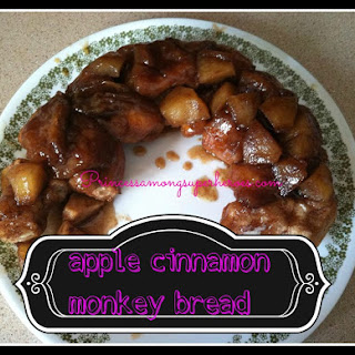 Cinnamon Apple Monkey Bread