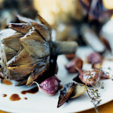 Artichokes with Garlic and Thyme