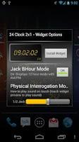 Screenshot of 24 Clock Widget