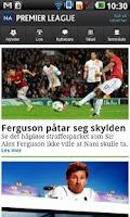 Screenshot of NA fotball