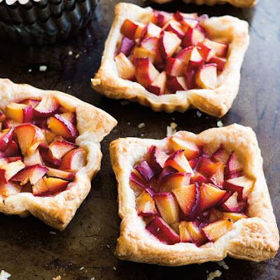 Five-Spice Plum Tartlets