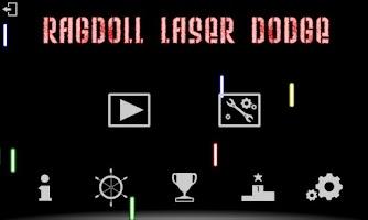 Screenshot of Ragdoll Laser Dodge