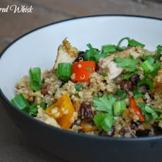 Thai Chicken and Quinoa Casserole (Recipe by Me)