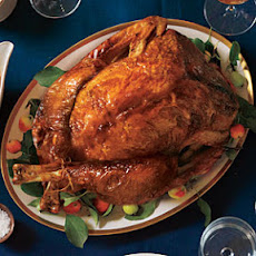 Apple-Poblano Whole Roast Turkey