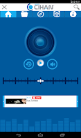 Screenshot of Radyo Cihan