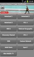 Screenshot of VodafoneMobielTV (Onofficieel)