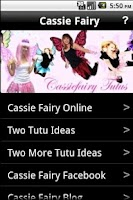 Screenshot of Cassie Fairy