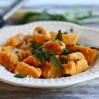 Butternut Squash Gnocchi with Browned Butter and Fried Sage