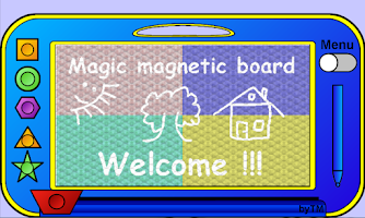 Screenshot of Magical Magnetic Board