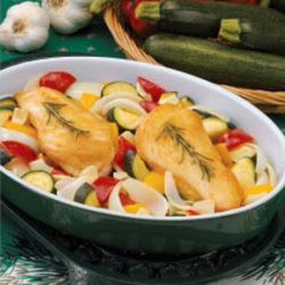 Rosemary-Garlic Chicken and Veggies