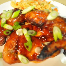 Wok Tossed Honey Soy and Chili Chicken Wings