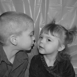 little sister and big brother by Danielle Crothers-Geeting - Babies & Children Toddlers