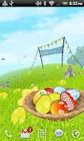 Screenshot of Easter Meadows Free Wallpaper