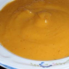 Pumpkin Coconut Milk Soup