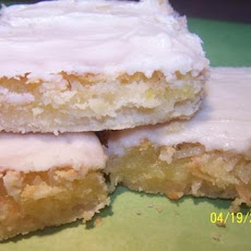 Grandma Ila Nelson's Lemon Dream Bars