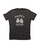 We Are All Smith Heather Black TShirt for Men. Happy Hour.