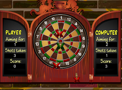 Avocado Guy Dart Game - screenshot