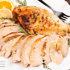 Citrus And Fresh Herb Rubbed Turkey Breast