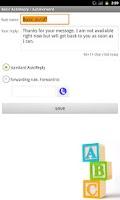 Screenshot of Intelligent AutoReply
