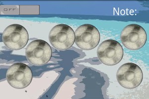 Screenshot of SnapTap: SteelDrums