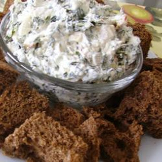 Spinach Dip with Water Chestnuts